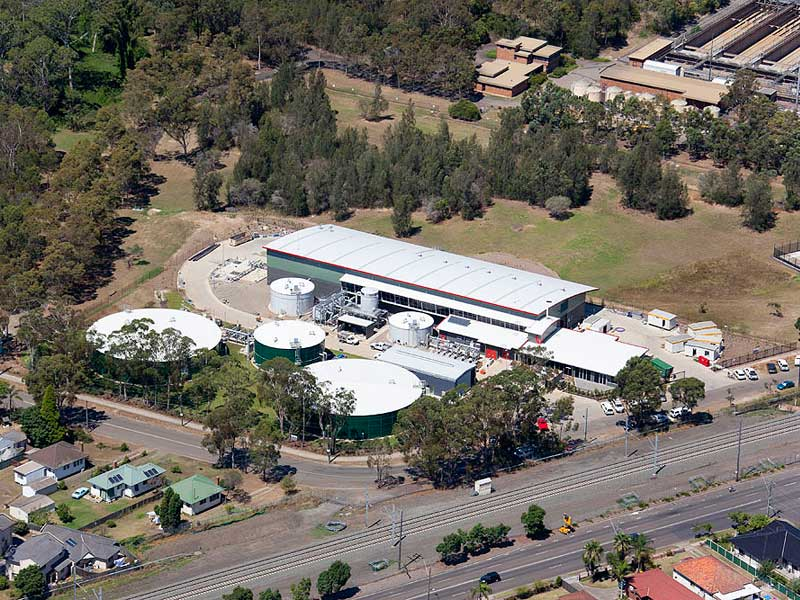 wollongong recycled water plant - photo#20
